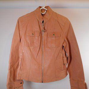 Wilson Leather Women's Pink Jacket M CL3074 0220